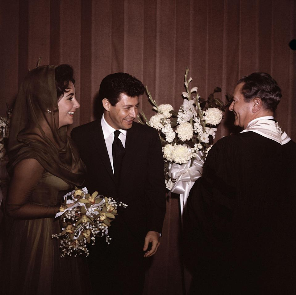 <p>While the marriages may not have always lasted (back then Hollywood stars were the exception to anti-divorce societal norms), the wedding photos were always glamorous and filled with cake. From jaw-dropping ceremonies to Las Vegas elopements, these vintage celebrity nuptials will remind you why the 1950s were considered the heyday of Old Hollywood. </p>