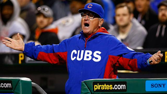 Maddon argued that Nationals closer Sean Doolittle's delivery includes a toe tap, a move that has been ruled illegal in the past.