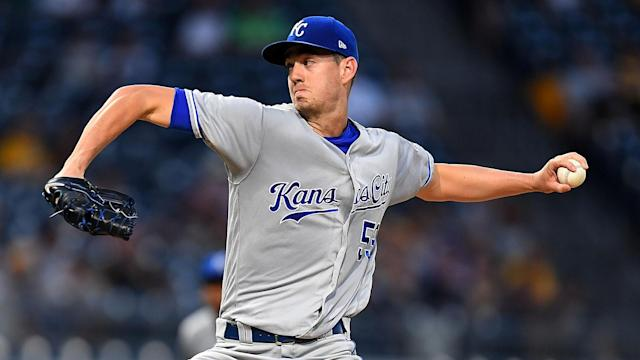 The Kansas City Royals' Eric Skoglund was handed an 80-game suspension by MLB.