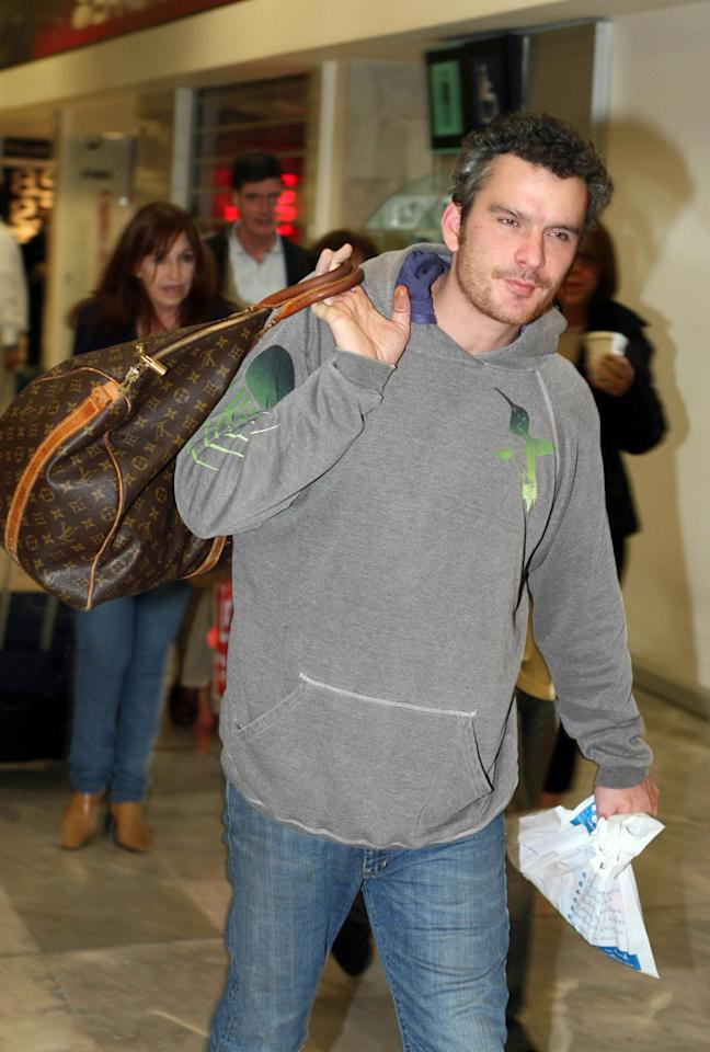 "Balthazar Getty (seen here arriving for a vacation in Mexico) may find himself out of a full-time gig in 2009. According to Entertainment Weekly, the producers of ""Brothers & Sisters"" told Getty that he would not be coming back as a regular next season. Getty's publicist denies the actor is leaving the ensemble drama. <a href=""http://www.infdaily.com"" target=""new"">INFDaily.com</a> - December 27, 2008"