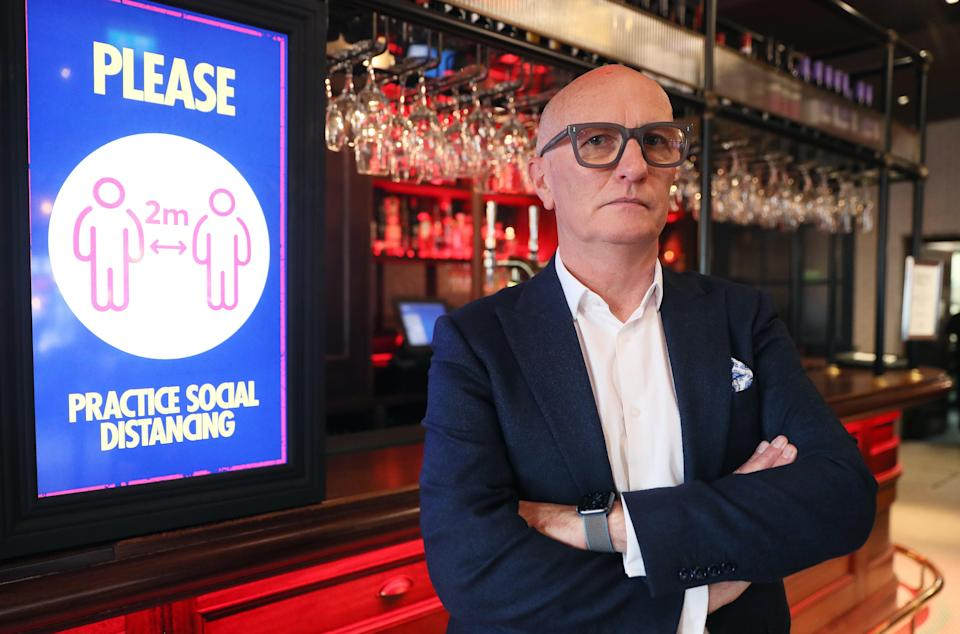 Colin Neill, Chief Executive of Hospitality Ulster (Brian Lawless/PA) (PA Archive)