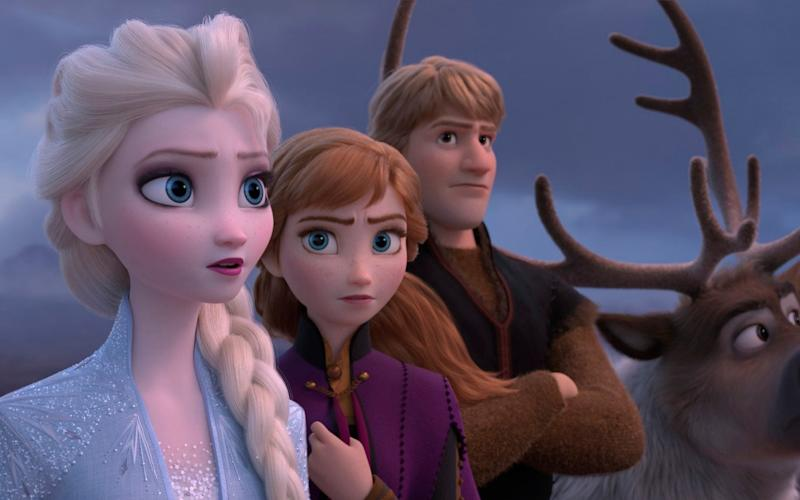 Frozen 2 was being shown on 88 per cent of all screens, the complaint claims - Disney