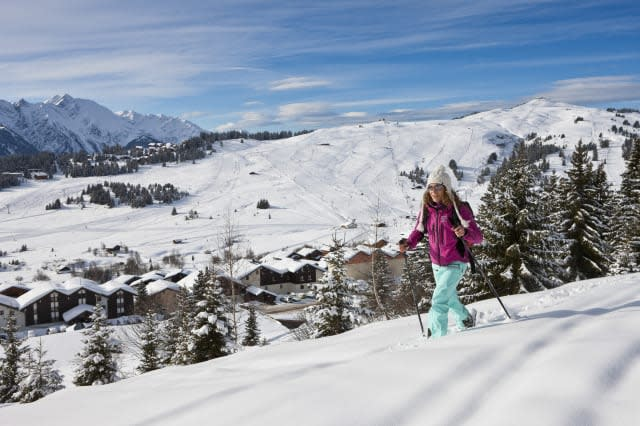 Snowshoeing in the French Alps, non-ski activities