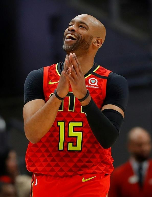 Vince Carter is the NBA's oldest active player (AFP Photo/Kevin C. Cox)