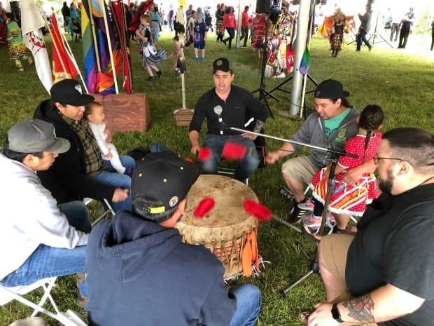After a quiet 2020, powwows are back in 2021. (Gary Moore/CBC - image credit)