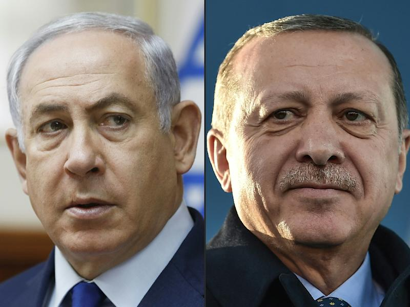 Turkey-Israel war of words as Erdogan slams 'nation-state' law