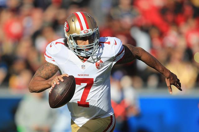 The AAF wanted to take a chance on Colin Kaepernick. (Getty)