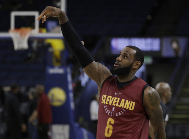 LeBron James' greatness also comes with a downside. (AP)