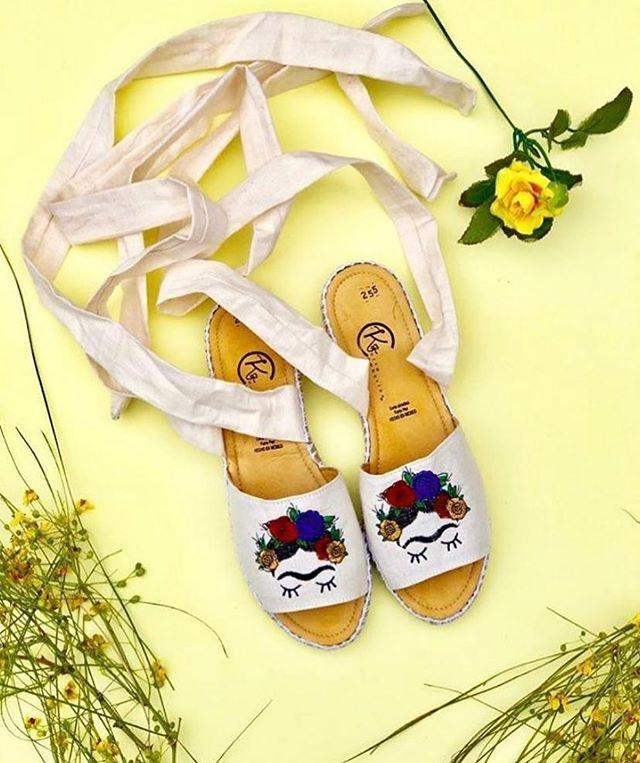 """<p>Embroidered tops and artisanal shoes with intricate leather designs and fun Frida Khalo prints (like the above) at the link coming right up.</p><p><a class=""""link rapid-noclick-resp"""" href=""""https://guaraxez.com/"""" rel=""""nofollow noopener"""" target=""""_blank"""" data-ylk=""""slk:SHOP NOW"""">SHOP NOW</a></p><p><a href=""""https://www.instagram.com/p/B8UmVIGp6r_/"""" rel=""""nofollow noopener"""" target=""""_blank"""" data-ylk=""""slk:See the original post on Instagram"""" class=""""link rapid-noclick-resp"""">See the original post on Instagram</a></p>"""