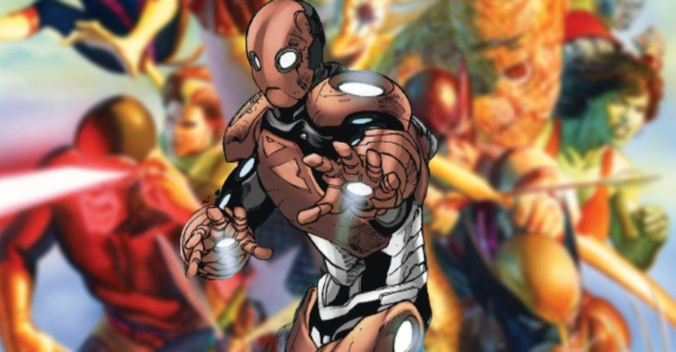 Marvel's endless crossovers mocked in DC's version of Iron Man, Machinehead
