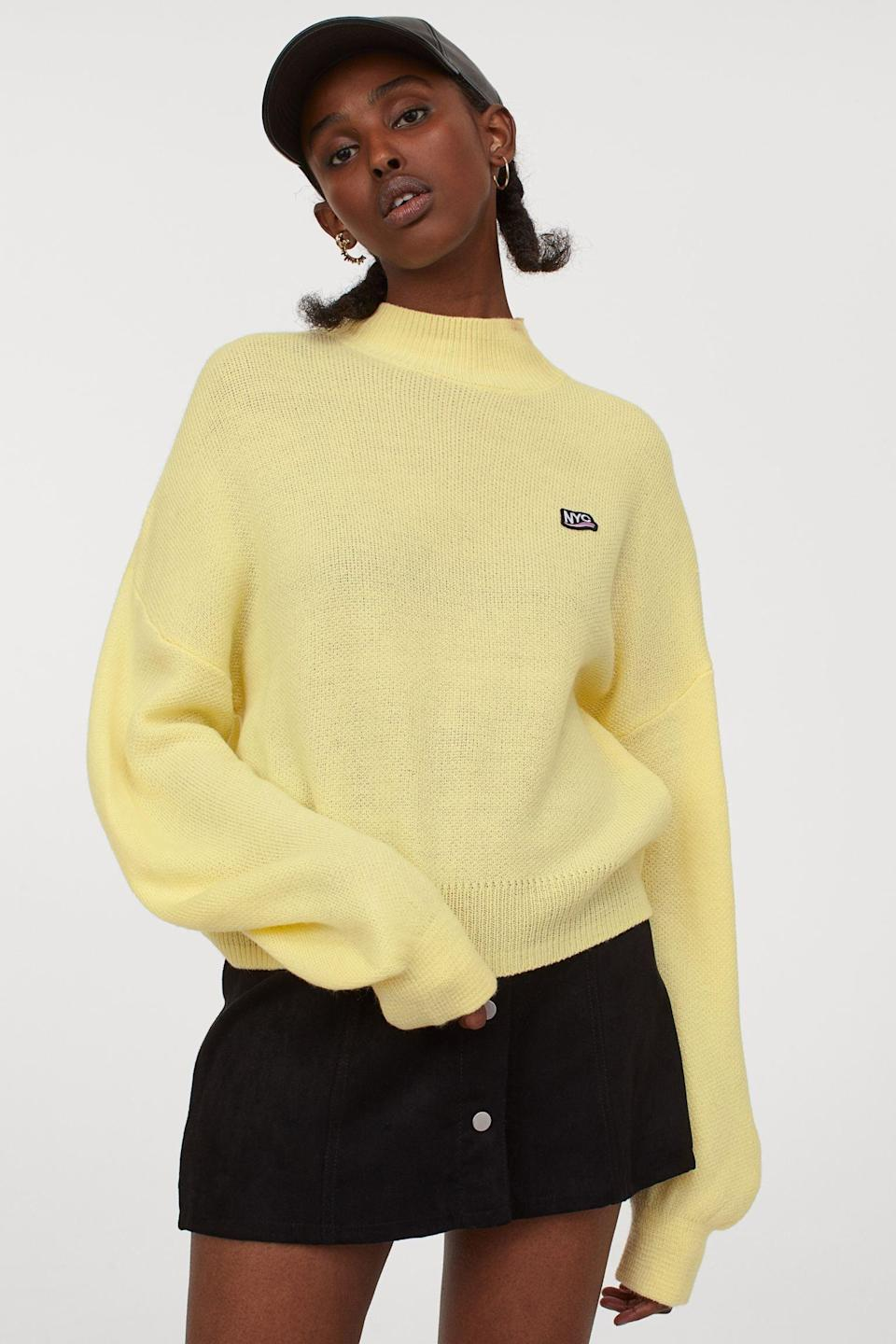 <p>This <span>H&amp;M Turtleneck Sweater</span> ($22, originally $25) is a bright and lively pop of color.</p>