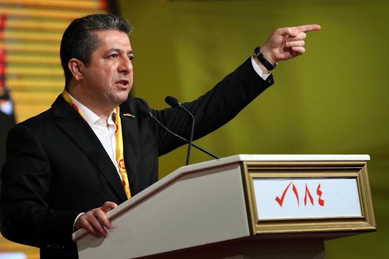 The Iraqi Kurds' new prime minister Masrour Barzani is a grandson of nationalist leader Mustafa Barzani, whose clan has dominated the region's politics for seven decades
