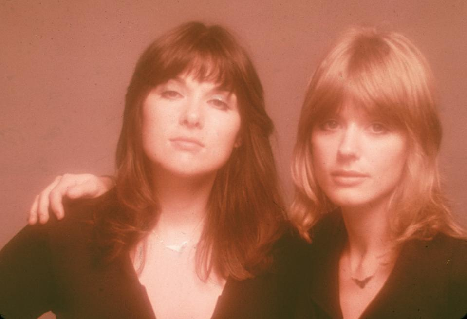Heart's Ann and Nancy Wilson of Heart in the 1970s. (Photo: Fotos International/Getty Images)