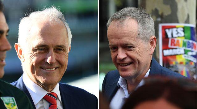 Both Prime Minister Malcolm Turnbull and Labor leader Bill Shorten have vowed to back the vote of the Australian people. Photo: AAP