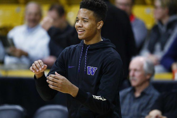 Markelle Fultz is viewed as the prize of Thursday's draft. (AP)