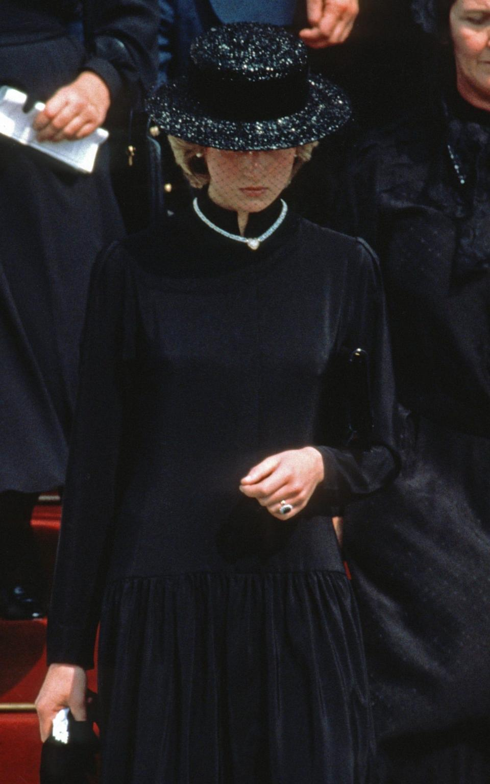 PRINCESS DIANA grace kelly of monaco 1982 - Getty Images
