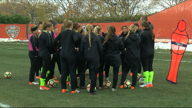 BGSU women's soccer preparing for NCAA tournament game against Michigan