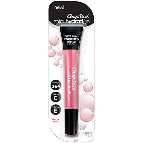"""<p><strong>Chapstick</strong></p><p>amazon.com</p><p><strong>$4.99</strong></p><p><a href=""""https://www.amazon.com/dp/B07D6R1YHL?tag=syn-yahoo-20&ascsubtag=%5Bartid%7C10055.g.34238680%5Bsrc%7Cyahoo-us"""" rel=""""nofollow noopener"""" target=""""_blank"""" data-ylk=""""slk:Shop Now"""" class=""""link rapid-noclick-resp"""">Shop Now</a></p><p>This GH Beauty Award-winning translucent tinted lip oil from Chapstick, which comes in shades from nude to deep-berry hues, is based on six plant oils. It gives the plumping sheen of gloss plus the nourishment of a balm in one swipe. """"<strong>No stickiness, and my lips felt hydrated, not parched</strong>,"""" a tester noted.</p>"""