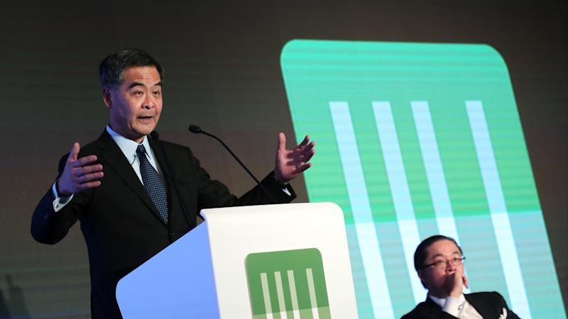 Former Hong Kong chief executive CY Leung threatens to launch legal action in the UK against city lawmaker