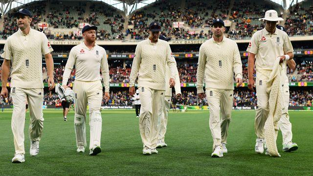 Things aren't looking great for England. Image: Getty