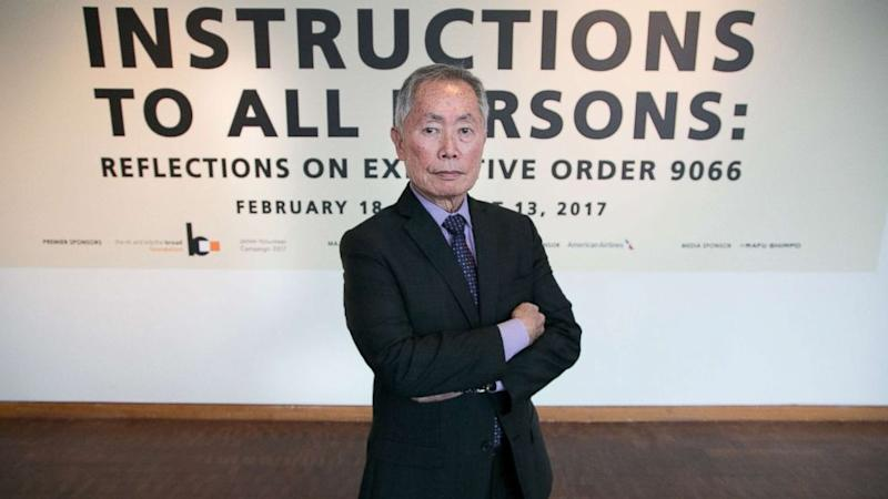 'Star Trek' star George Takei says he's 'shocked and bewildered' by sexual assault claim