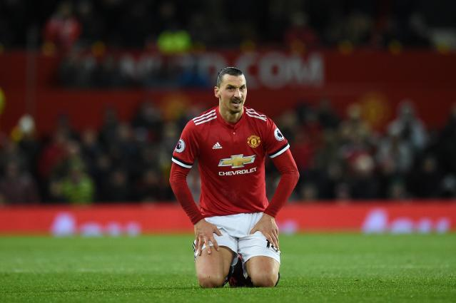 Zlatan Ibrahimovic is recovering from a serious knee injury.