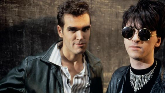 Morrissey and Johnny Marr of The Smiths (Rex Features)