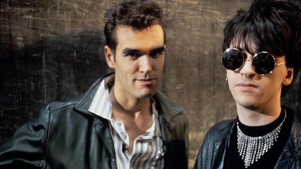 Morrissey and Johnny Marr of The SmithsRex Features