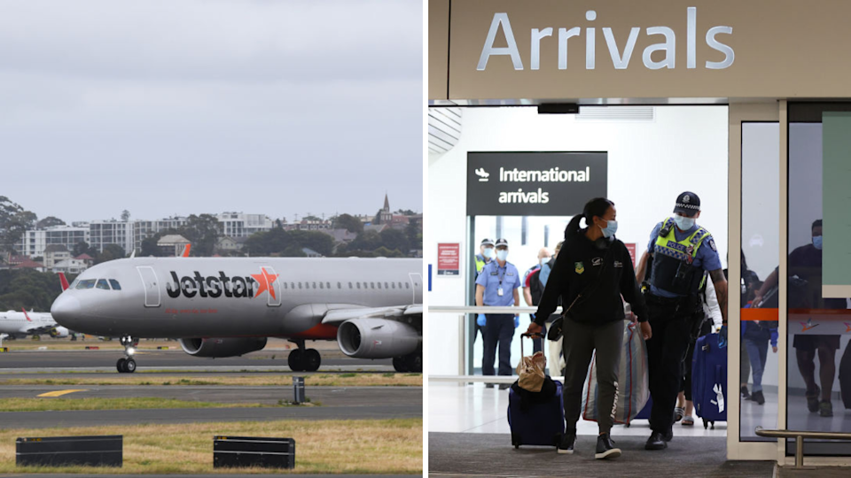 The Trans-Tasman Travel Bubble has officially opened up. (Source: Getty)