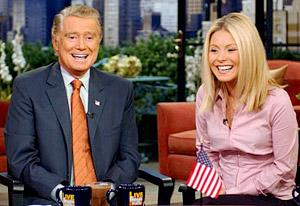 Regis Philbin, Kelly Ripa | Photo Credits: Disney/ABC