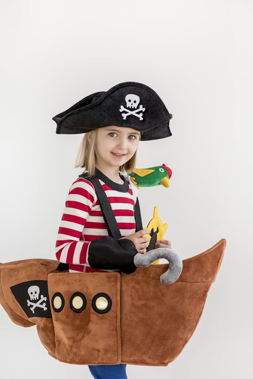 <p>Doesn't the <span>Wearable 3D Pirate Ship</span> ($40, originally $80) make you want to yell aye, aye captain?!</p>