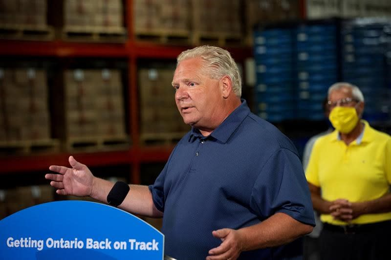 Ford stands firm amid growing calls to revise Ontario's back-to-school plan