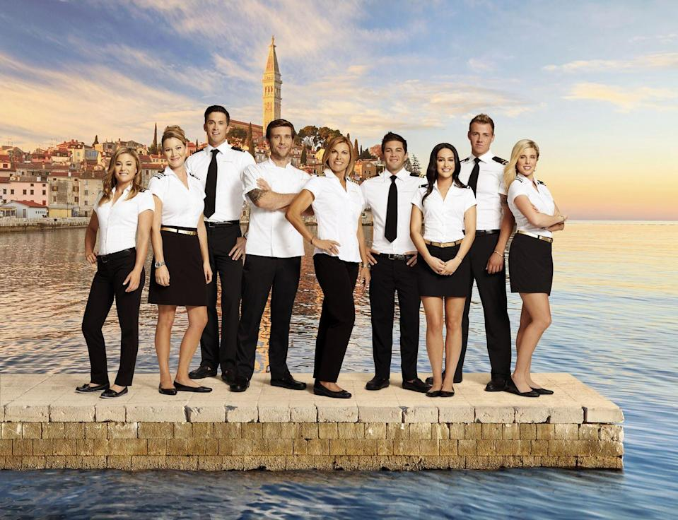 "<p>If you're a yachtie who wants to give reality television a try, <a href=""https://belowdeckmediterranean.castingcrane.com/"" rel=""nofollow noopener"" target=""_blank"" data-ylk=""slk:online applications"" class=""link rapid-noclick-resp"">online applications</a> to be on <em>Below Deck </em>are posted as Bravo begins casting for each season. All you have to do is share your basic information, your yachting resumé, and a short video to introduce yourself. </p>"