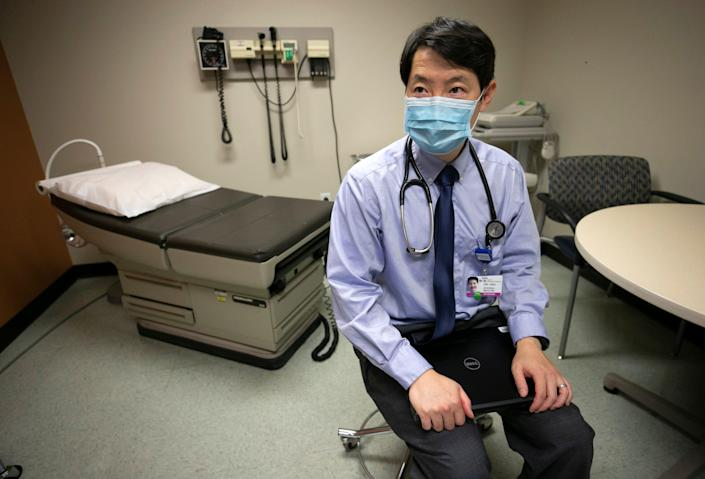 Dr. Harvey Hsu, an internal medicine doctor at the Banner University Medical Center complex in Phoenix, has been working with patients who have long-term issues after COVID-19.