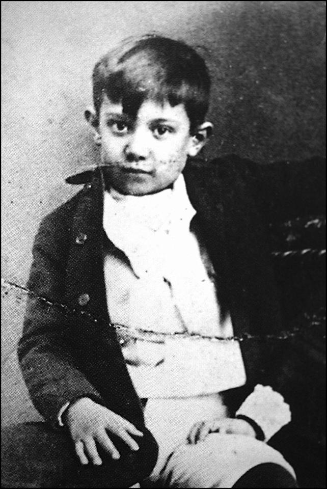 <p>Picasso was born in Málaga, Spain in 1881. He was the first child of Don José Ruiz y Blasco, an art teacher who specialized in portraits of doves and pigeons, and María Picasso y López. He later assumed his mother's Italian surname because he believed it sounded more unique. </p>