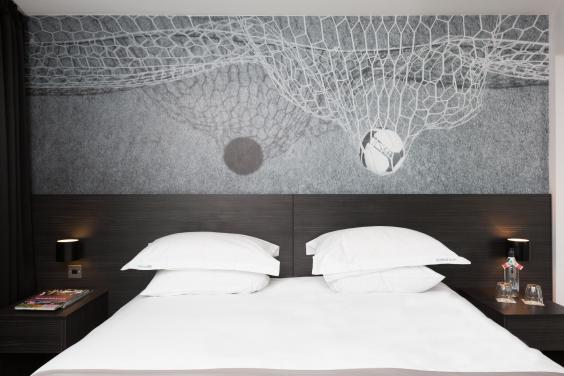 Football fanatics will be in their element at Hotel Football (Hotel Football)