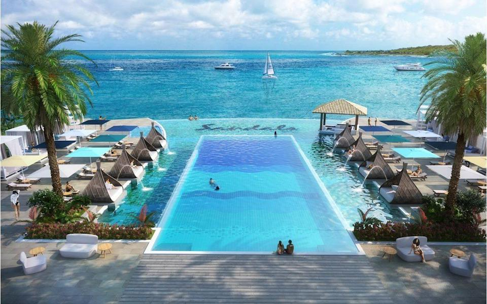 Seven nights at Sandals Royal Curaçao for two people staying in a Subi Premium Room costs from £2,599 per person - Sandals