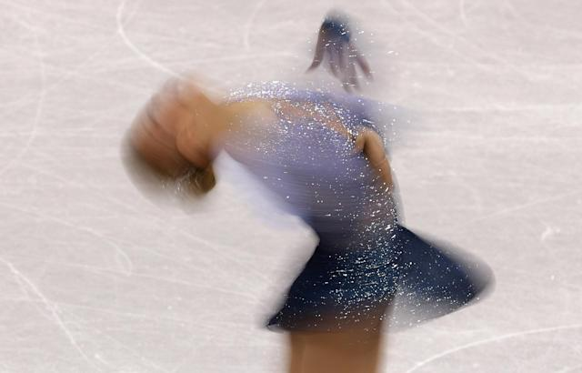 Figure Skating - Pyeongchang 2018 Winter Olympics - Women Single Skating free skating competition final - Gangneung Ice Arena - Gangneung, South Korea - February 23, 2018 - Emmi Peltonen of Finland competes. REUTERS/Lucy Nicholson TPX IMAGES OF THE DAY