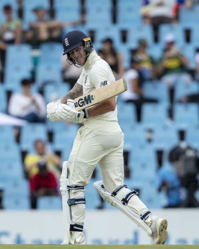 England suffered a 107-run defeat to South Africa in the first Test (Themba Hadebe/AP)