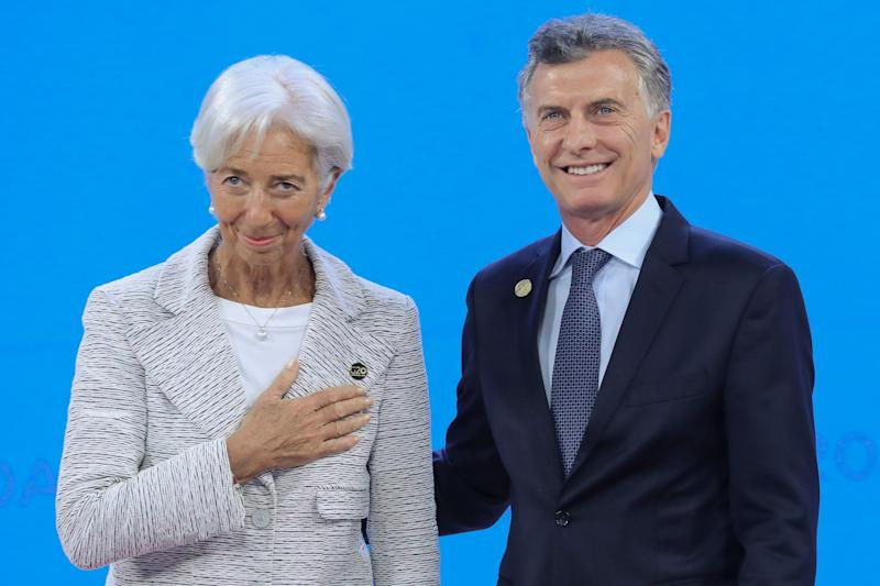 Lagarde's IMF Exit Costs Indebted Argentina Top Ally