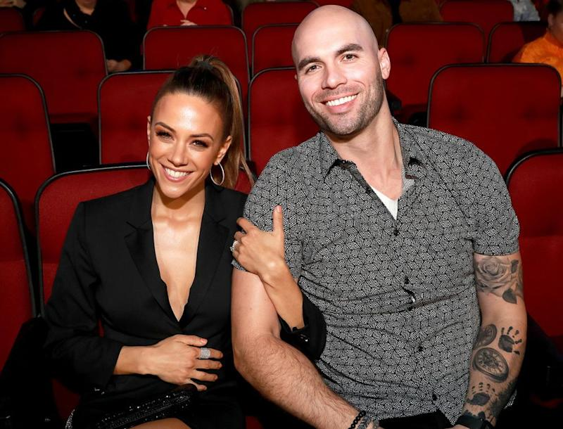 Jana Kramer and Mike Caussin | Rich Fury/Getty