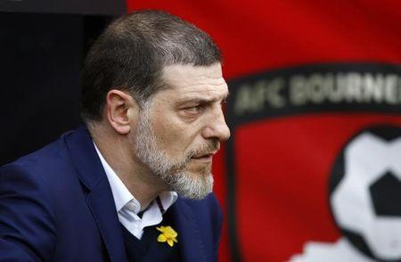Britain Football Soccer - AFC Bournemouth v West Ham United - Premier League - Vitality Stadium - 11/3/17 West Ham United manager Slaven Bilic Action Images via Reuters / Peter Cziborra
