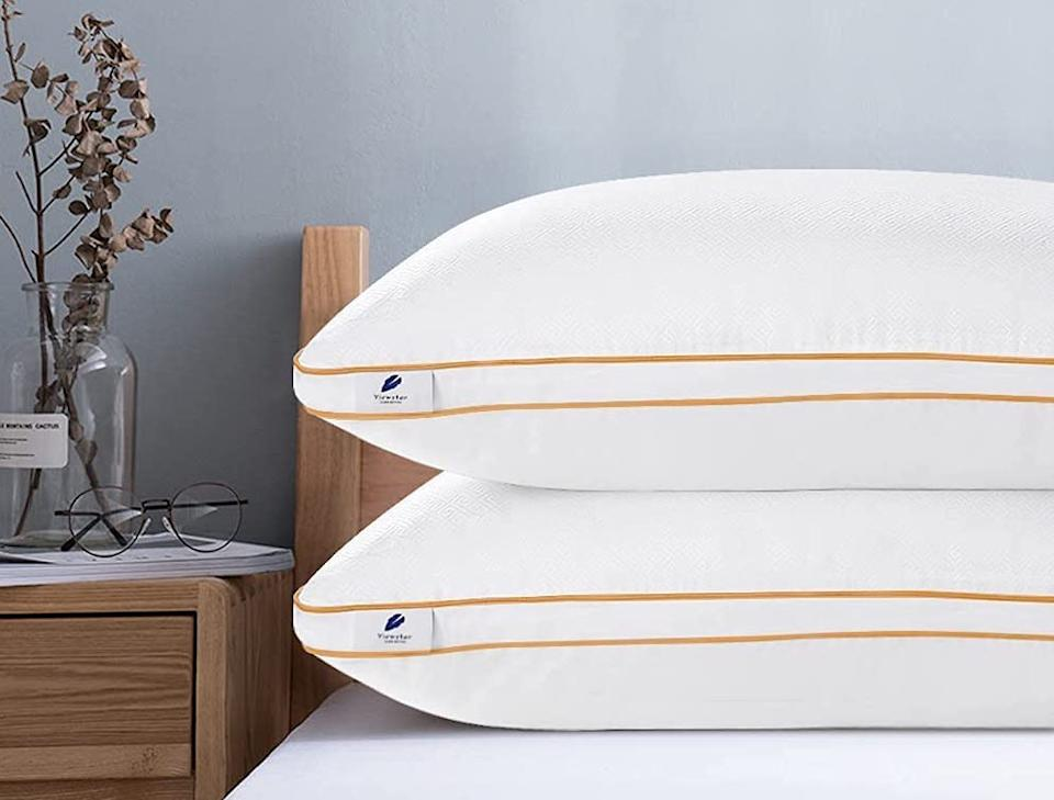 You need these on your bed. (Photo: Amazon)