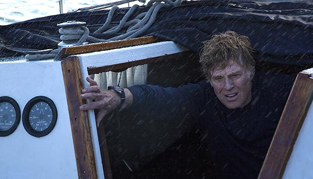 Robert Redford in 'All Is Lost'