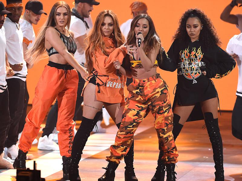 Little Mix wowed crowds with their performance at the Nickelodeon Kids Choice Awards (Copyright: Frank Micelotta/REX/Shutterstock)