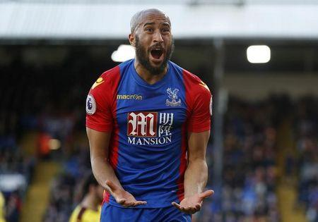 Britain Football Soccer - Crystal Palace v Burnley - Premier League - Selhurst Park - 29/4/17 Crystal Palace's Andros Townsend reacts Action Images via Reuters / John Sibley Livepic