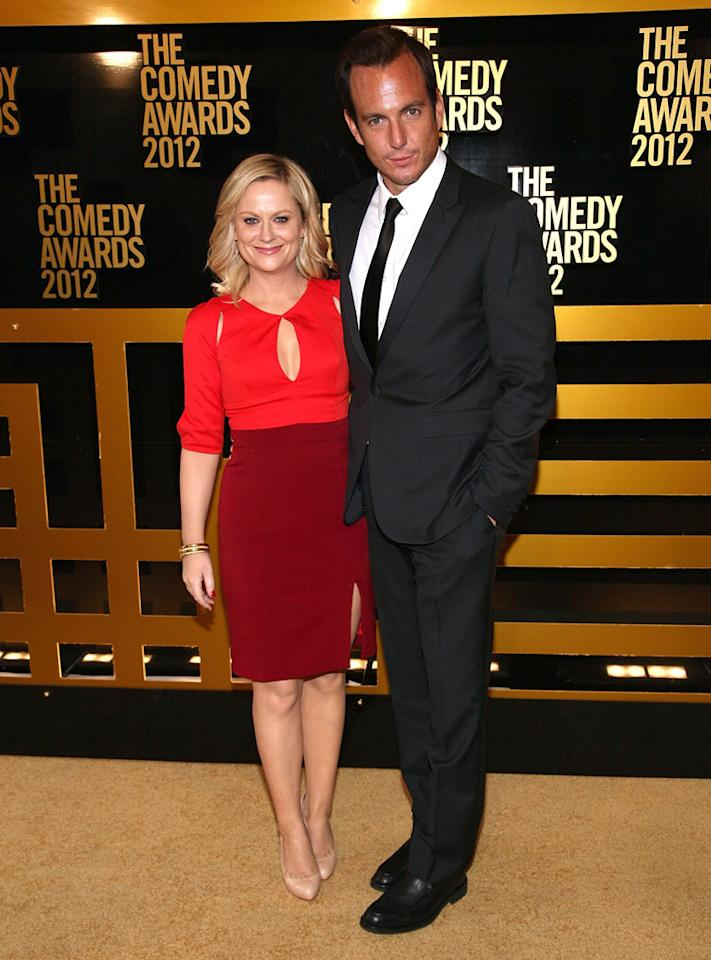 Amy Poehler and Will Arnett attend The Comedy Awards 2012 at Hammerstein Ballroom on April 28, 2012 in New York City.