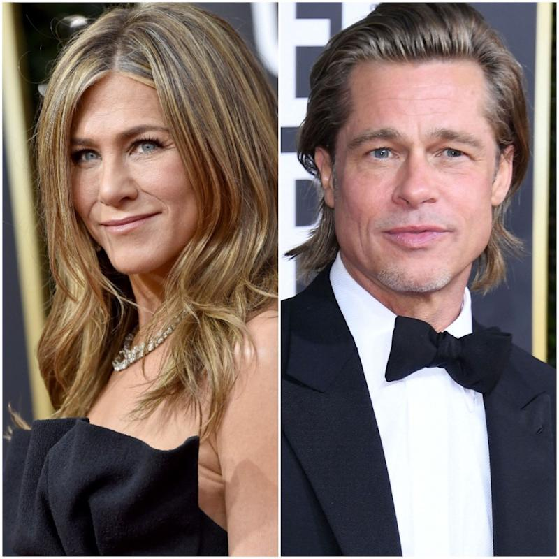 Brad Pitt Made a Marriage Joke at the SAGs—And Jennifer Aniston's Reaction Was Priceless
