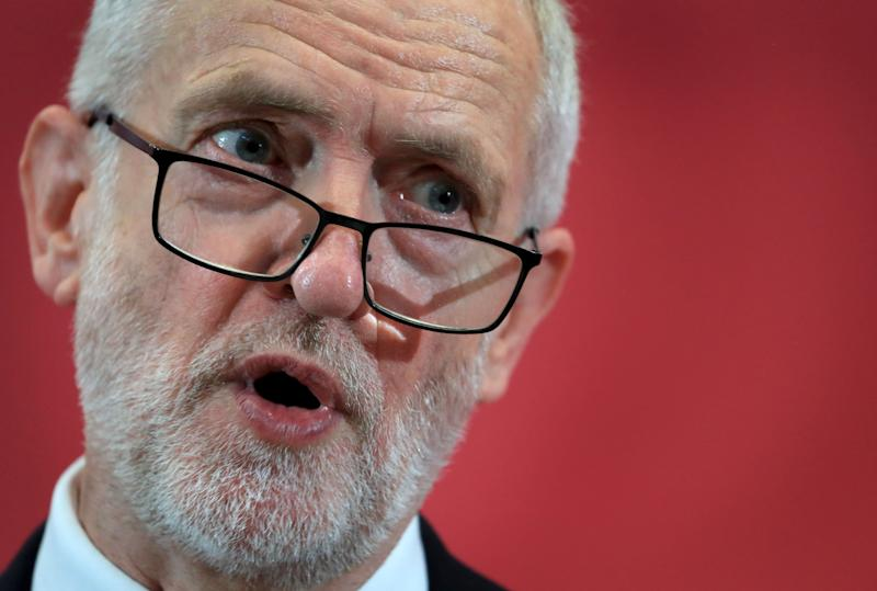 Labour leader Jeremy Corbyn is under pressure from within his own party (Picture: PA)