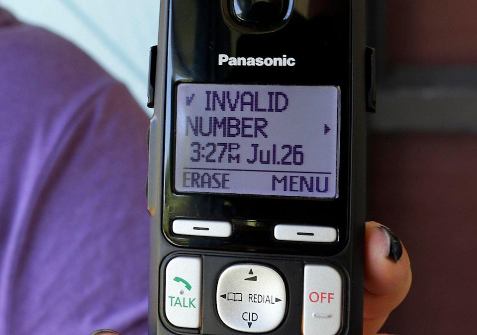 Robocalls have been getting worse and worse.  (AP Photo/John Raoux)